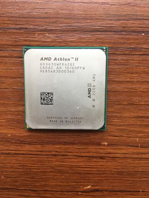 2 AMD processors. Athlon 630 and Phenom 945 for Sale in Marion, IL