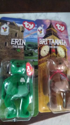 1999 Rare Beanie babies in box for Sale in Brentwood, NC
