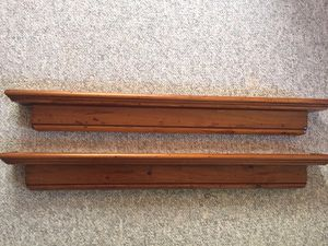 wooden floating wall shelves for Sale in Portland, OR