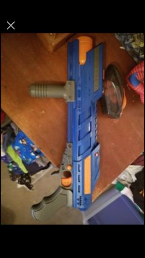 Nerf gun with foam ball pellets for Sale in Powder Springs, GA
