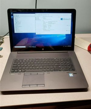 Hp Laptop 32GB RAM Core i7 Quad Core for Sale in Colorado Springs, CO