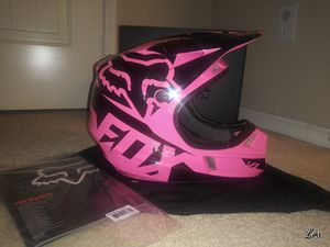 Pink Fox Youth Dirt Bike Helmet for Sale in Corona, CA
