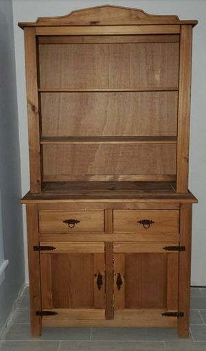 Solid Wood China Cabinet for Sale in Orlando, FL