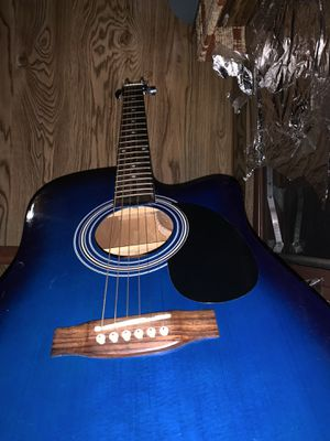 Indiana Acoustic guitar with tuner for Sale in Oklahoma City, OK