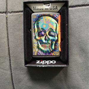 Zippo Lighter Geometric skull Design for Sale in Brooklyn, NY