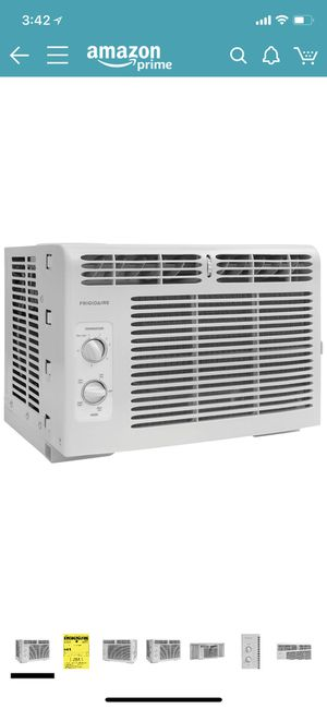 Frigidaire FFRA0511R1 5, 000 BTU 115V Window-Mounted Mini-Compact Air Conditioner with Mechanical Controls for Sale in Seattle, WA