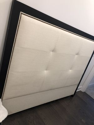 Two king size bed sets- mattress not included! for Sale in Atlanta, GA