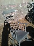 Antique 1920s Wood Rocking Chair for Sale in Las Vegas, NV