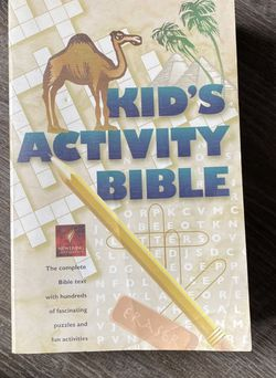 Kid's Activity Bible for Sale in Framingham,  MA