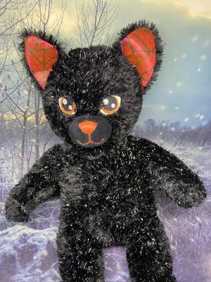 "Build a Bear Night Magic Cat 19"" plush toy for Sale in Lakewood, CA"