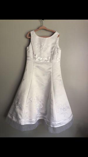 Talbots Kids Gown Flower Girl Wedding Communion Formal Dress for Sale in Haverhill, MA