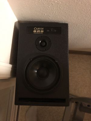Studio monitors carvin srs (Vintage ) for Sale in Federal Way, WA