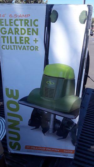 Electric Garden Tiller + Cultivator for Sale in Buena Park, CA