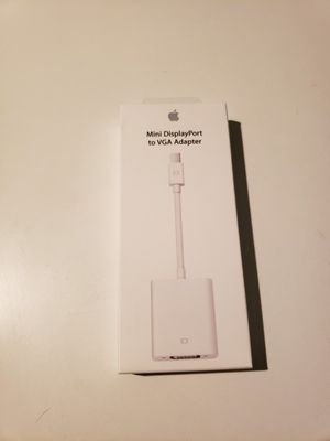 Apple Mini DisplayPort to VGA Adapter for Sale in Tacoma, WA