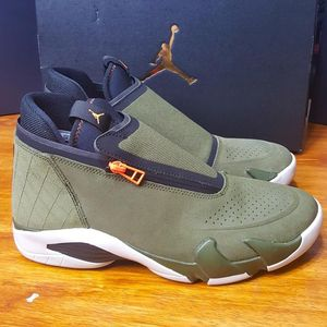 New Men's Air Jordan Jumpman Z Shoes (AQ9119-300) Olive/Green/Black Size 11.5 for Sale in Los Angeles, CA