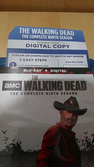 The Walking Dead season 9 for Sale in Fontana, CA