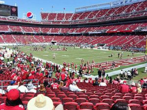 2 lower level tix 49ers vs. Panthers for Sale in Pacheco, CA