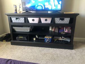 Dark Wood TV Stand for Sale in Escondido, CA