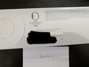Brand new and sealed Apple Watch Series 5 40mm Space Gray GPS + Cellular MWWQ2LL/A for Sale in Cypress, CA