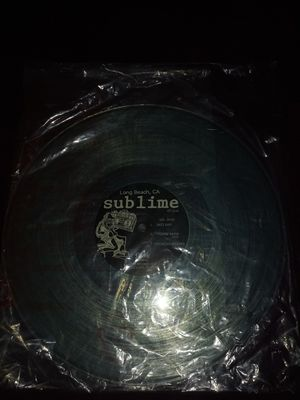 Two sided Sublime vinyl record for Sale in Huntington Beach, CA