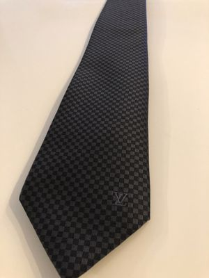Black/gray Louis Vuitton LV tie for Sale in New York, NY