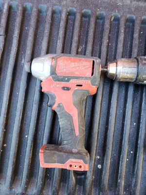 Milwaukee brushless impact and hammer drill for Sale in Boston, MA