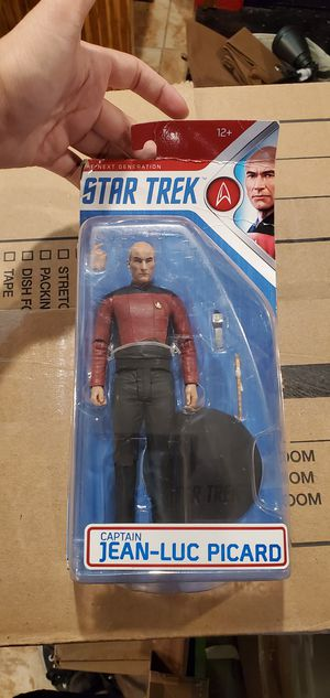 McFarlane Toys Star Trek Captain Jean-Luc Picard Collectible Action Figure for Sale in Las Vegas, NV