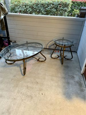 Coffee table & side table for Sale in Sunnyvale, CA
