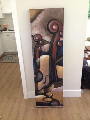 Canvas art piece for Sale in Deerfield Beach, FL