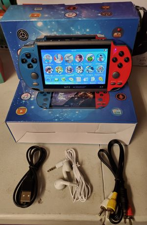 """New game plus 5.1 """" screen music playing, video playing, ebook, stopwatch, camera, tv output for Sale in Riverside, CA"""