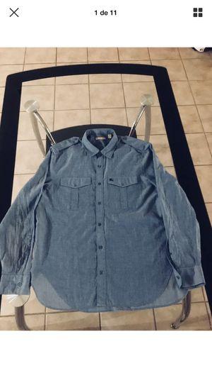 Burberry Brit Men's Long Sleeve Shirt Size XL Blue for Sale in Phoenix, AZ