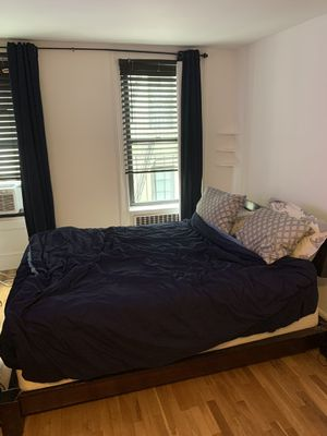 Queen bed with frame for Sale in New York, NY