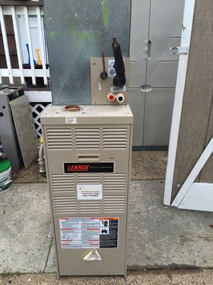 Gas furnace/heaters Btu 50 ,000 coil and condenser R-22 for Sale in Pennsauken Township, NJ
