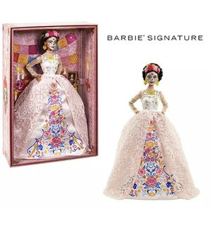 Barbie Signature Dia De Muertos 2020 Doll (12-in Brunette) in Dress and Flower Crown for Sale in Miramar, FL