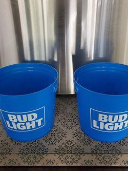 BUD LIGHT Plastic Ice Buckets for Sale in Rialto,  CA