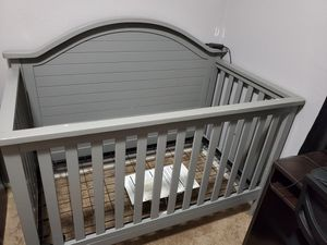 Gray baby crib for Sale in San Diego, CA