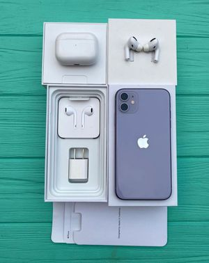 iPhone 11 Factory Unlocked 128GB..All Carrier for Sale in Boston, MA