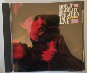 Ruben Blades live cd for Sale in Tuscola, TX