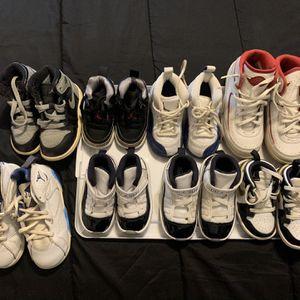 Jordan Lot In Kids Sizes (read Description for Sale in New Haven, CT
