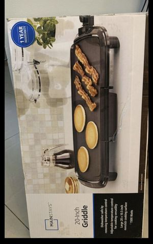 Griddle flat stove top brand new for Sale in Sunrise, FL
