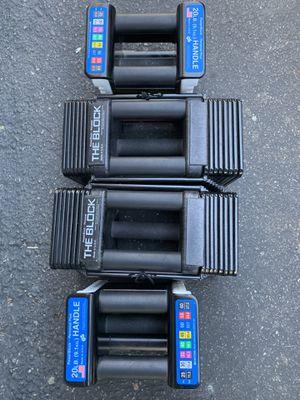Power block dumbbells for Sale in Kent, WA