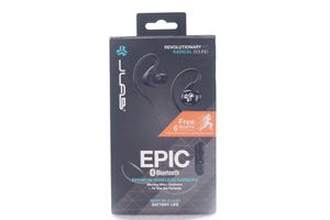 JLab Audio Epic Bluetooth 4.0 Wireless Sports Earbuds Waterproof - Black for Sale in Rancho Cucamonga, CA