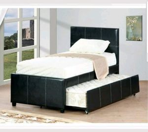 TWIN OVER TWIN TRUNDLE BED no mattress for Sale in Scottsdale, AZ