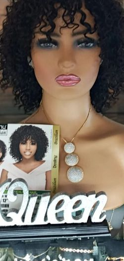 Curly human hair wig for Sale in Boca Raton,  FL