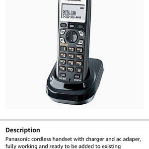 Panasonic Cordless Handset And Answering Machine Digital for Sale in Issaquah, WA