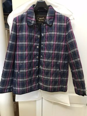 c296c8e74 New Coach Quilted Hacking Coat / Jacket, size L / XL Mint condition for Sale