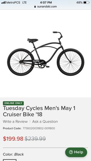 Tuesday Cycles May 01 Cruiser for Sale in Torrance, CA
