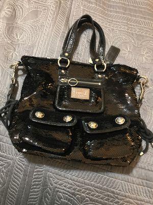 Coach sequin black purse , handbag Never Used for Sale in Edgewood, WA
