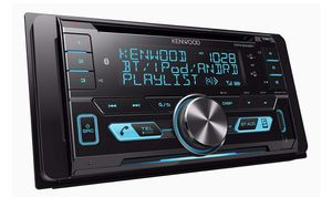 Kenwood Double-DIN In-Dash CD/MP3/USB Bluetooth AM/FM Car Stereo Receiver High Resolution Audio Compatibility for Sale in Gardena, CA