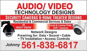 Security cameras equipment for Sale in Wellington, FL